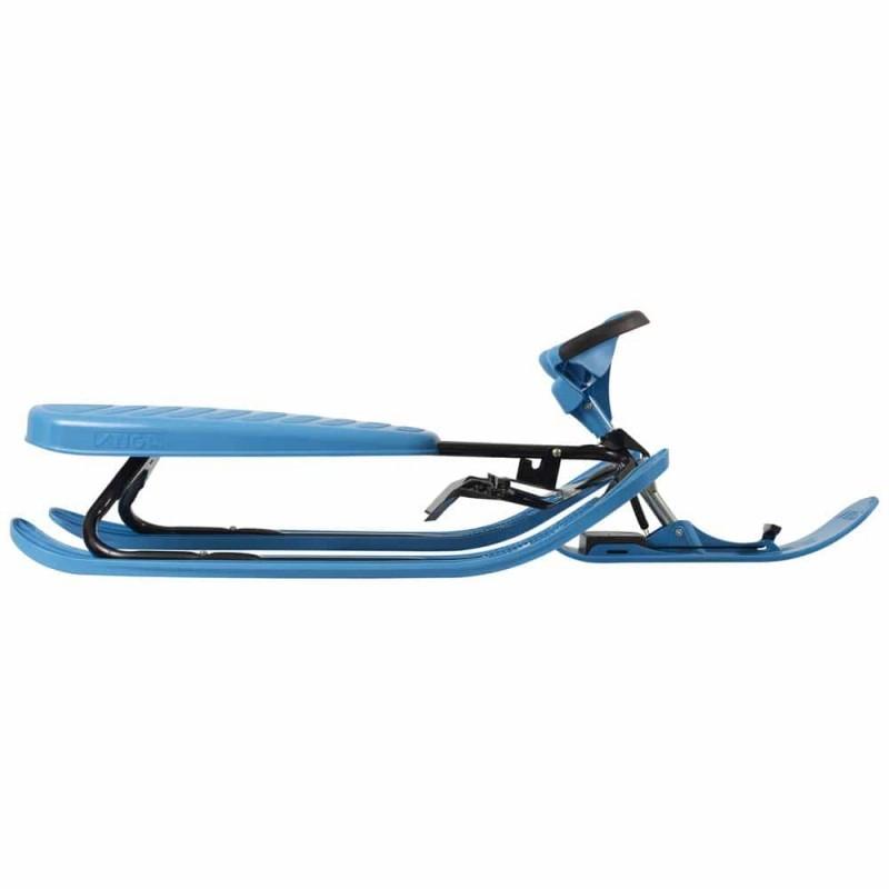 Sanie sportivă cu volan STIGA SnowRacer Color PRO albastru - negru