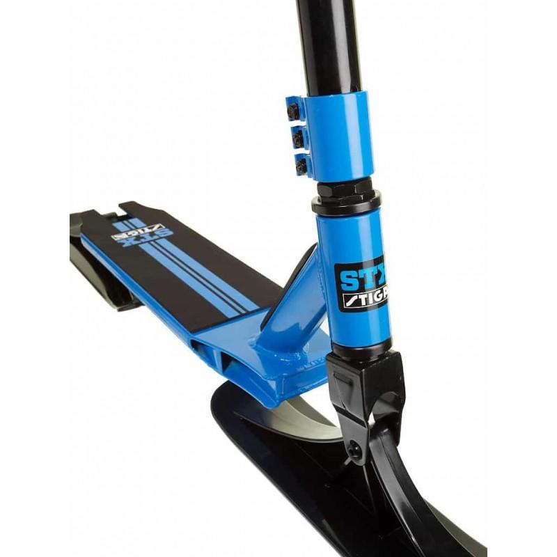 STIGA SnowKick STX albastru - negru trotinetă de zăpadă pentru copii