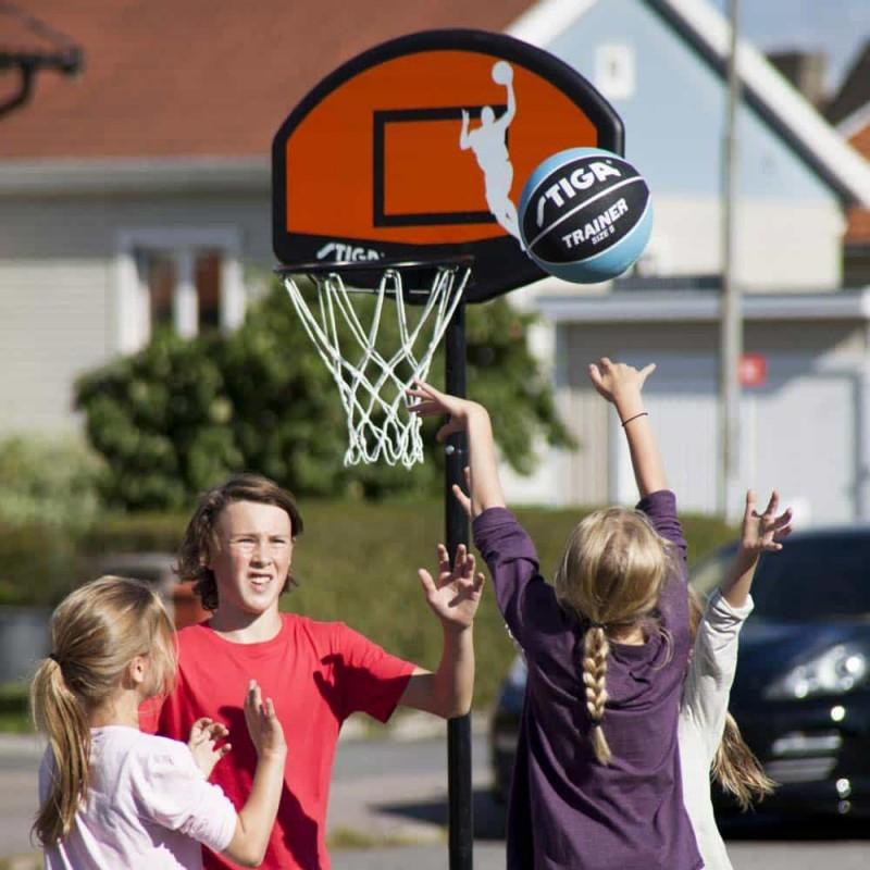 Panou coș de baschet cu inel și plasă STIGA Slam 30 Hoop portocaliu