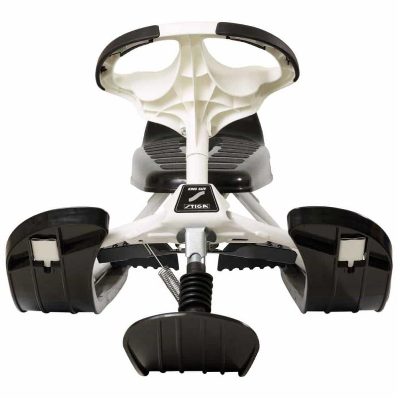 Sanie sportivă cu volan STIGA SnowRacer KING Size Supreme GT negru