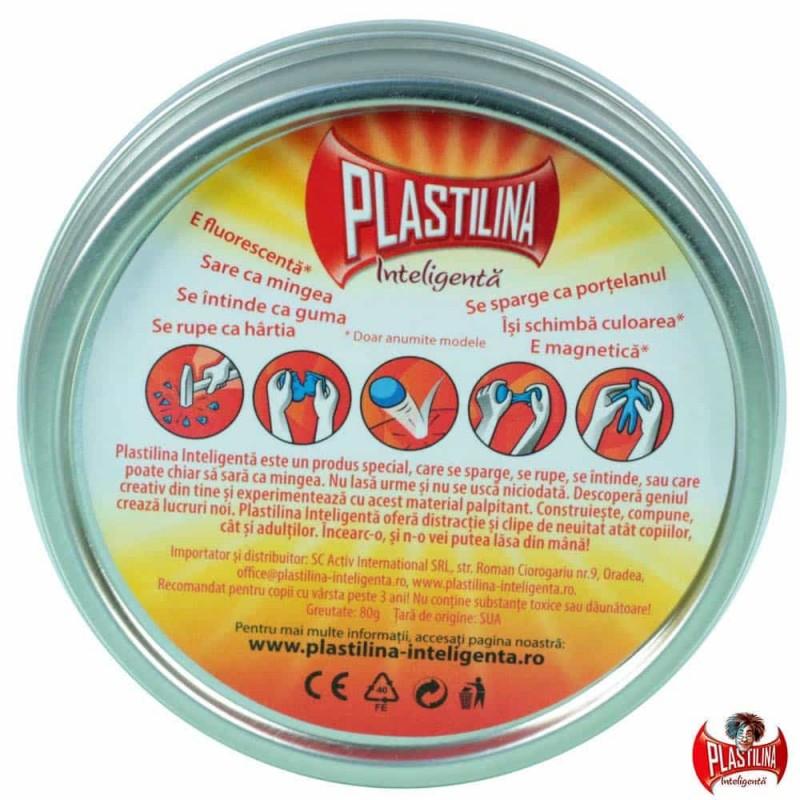 Plastilina Inteligentă Originală Clasică - Diamant Lichid transparent 0334