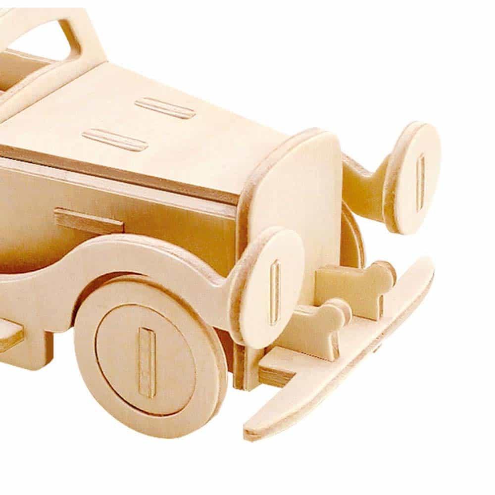 rowood Puzzle 3D din lemn Mașină Mini Classic JP110 Car - 25 piese
