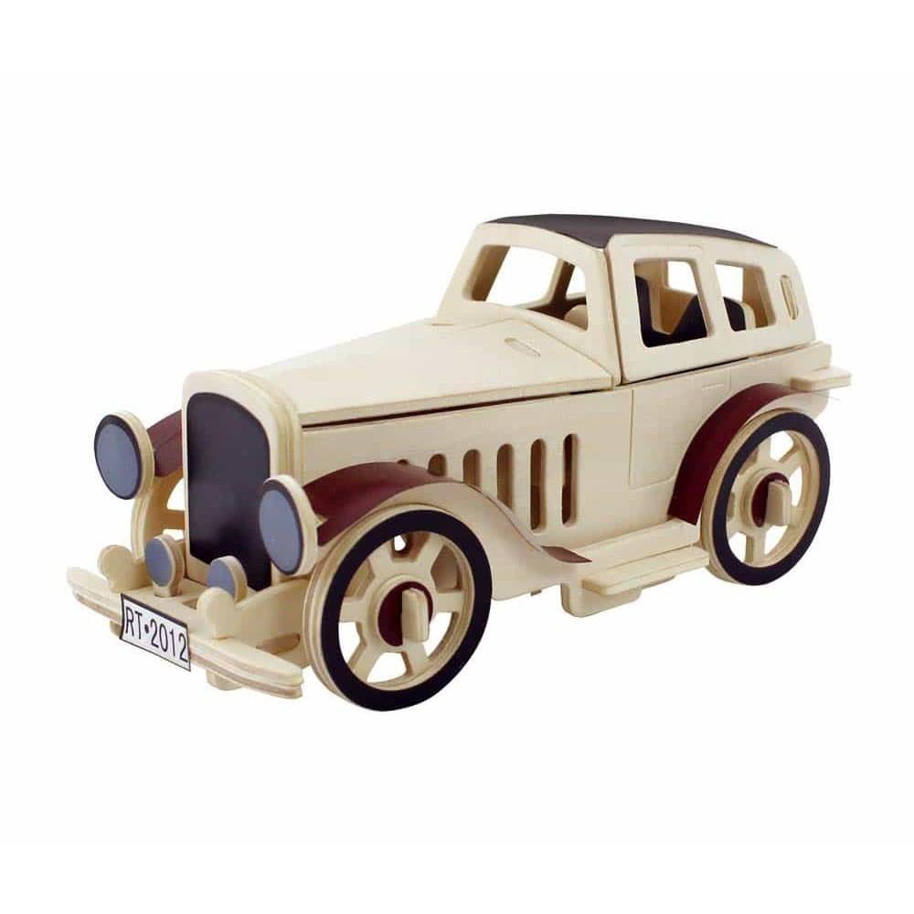 Robotime Puzzle 3D din lemn Mașină clasică JP352 - 43 piese Classic car