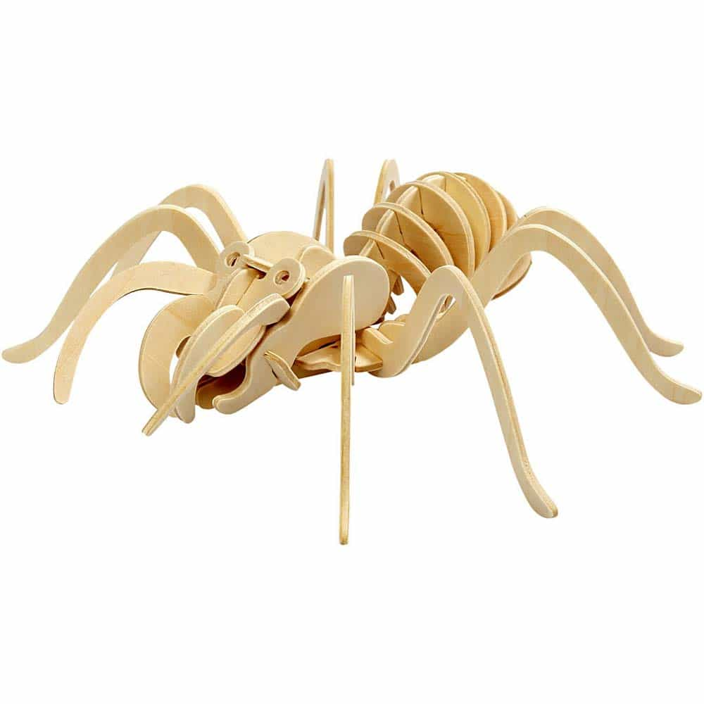 rowood Puzzle 3D din lemn Insecte Păianjen 27 piese JP205 Spider