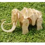 Robotime Puzzle 3D din lemn Mamutul interactiv A400 87 piese