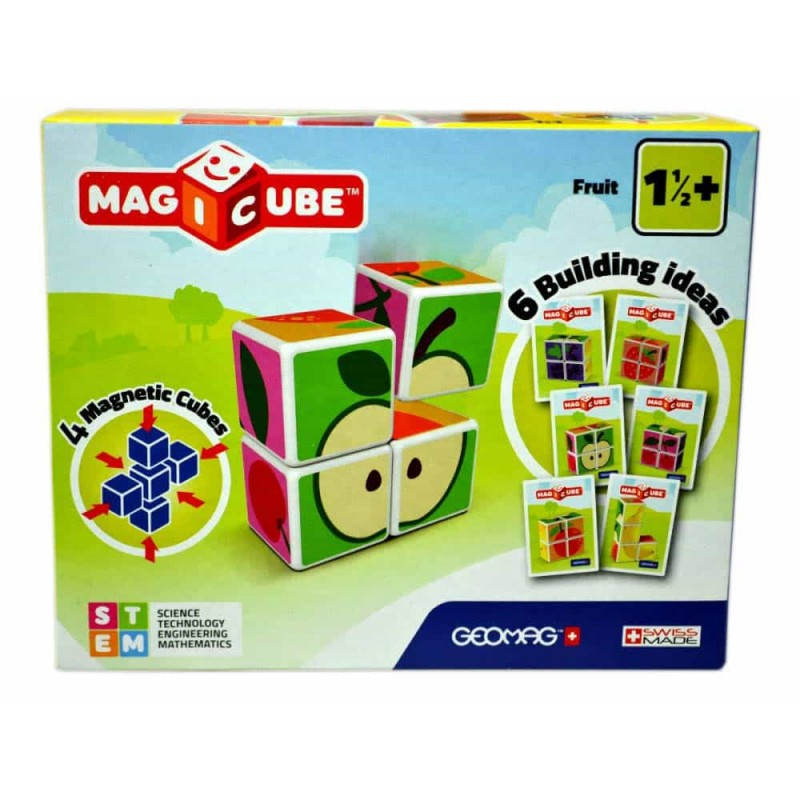 GEOMAG Set magnetic construcție MagiCube Fructe GEOMAG 131