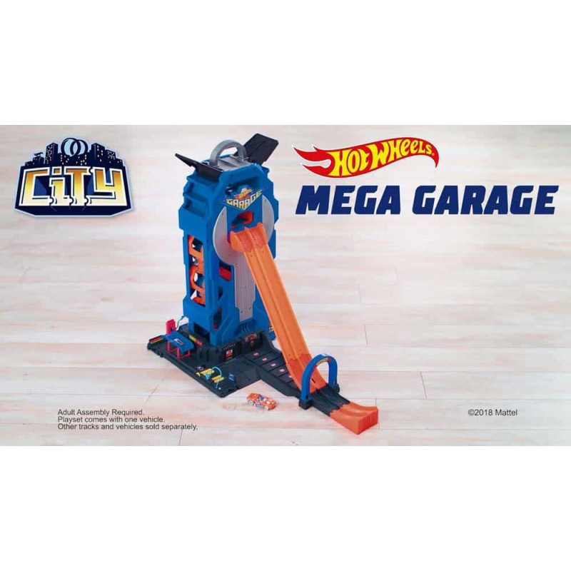Hot Wheels Set de joacă Mega Garage FTB68 MATTEL