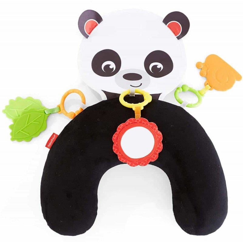 Fisher-Price Pernă burtică cu model ursuleț Panda FXB99