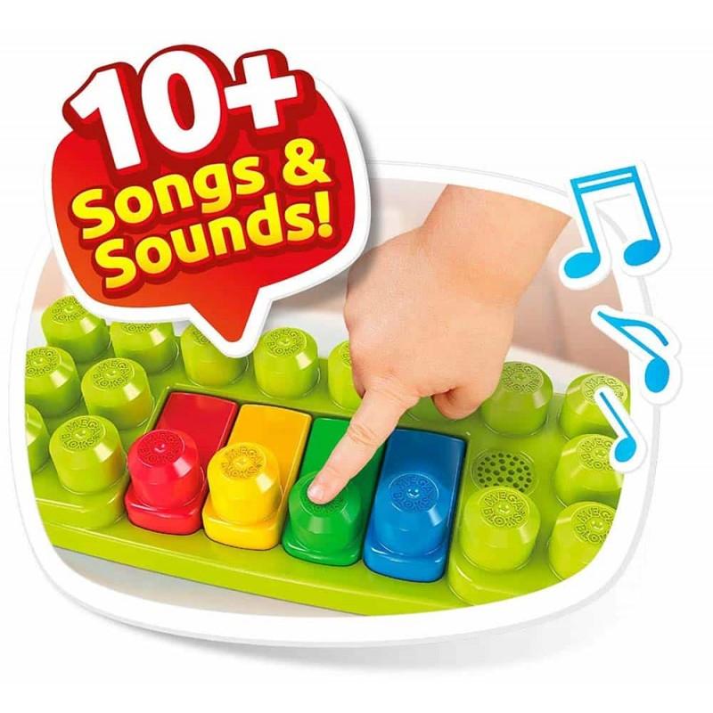 Mega Bloks Set de joacă Fermă muzicală 46 piese GCT50 Musical Farm