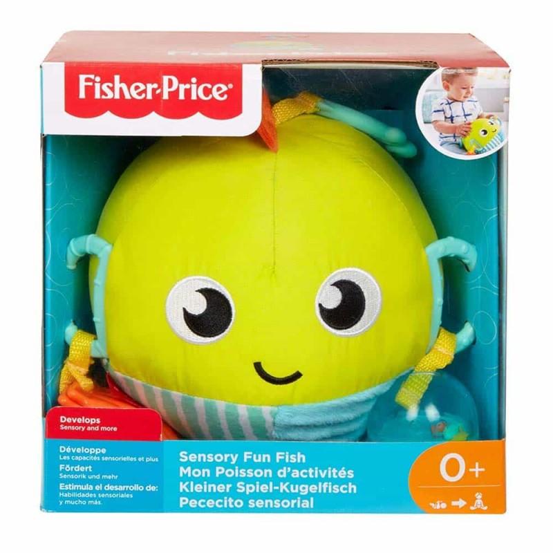 Fisher-Price Jucărie senzorială peștișor amuzant GFC36 Sensory Fish