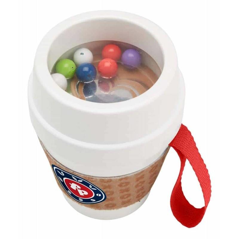 Fisher-Price Jucărie pentru dentiție Cană de cafea zornăitoare DYW60