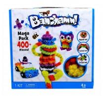Set creație cu arici Magic Blocks Balls 400 buc Mega Pack - Banchamm