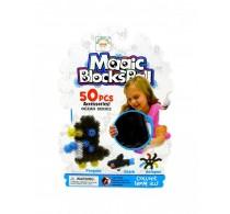Set creație cu arici Magic Blocks Balls Ocean Series 50 buc - Banchamm