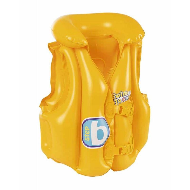 Vestă gonflabilă Bestway Swim Safe Baby Vest step B 32034 51x46 cm