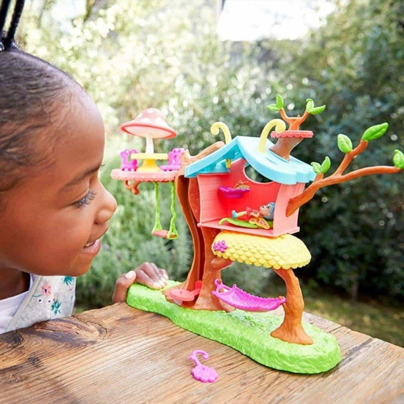 Enchantimals Căsuța de joacă a păpușii Baxi Butterfly GBX08 Petal Park