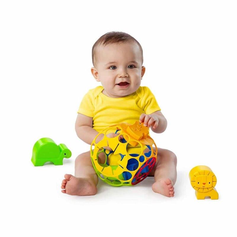 Oball Minge sortare forme pentru bebeluși 10064 multicolor Bright Starts