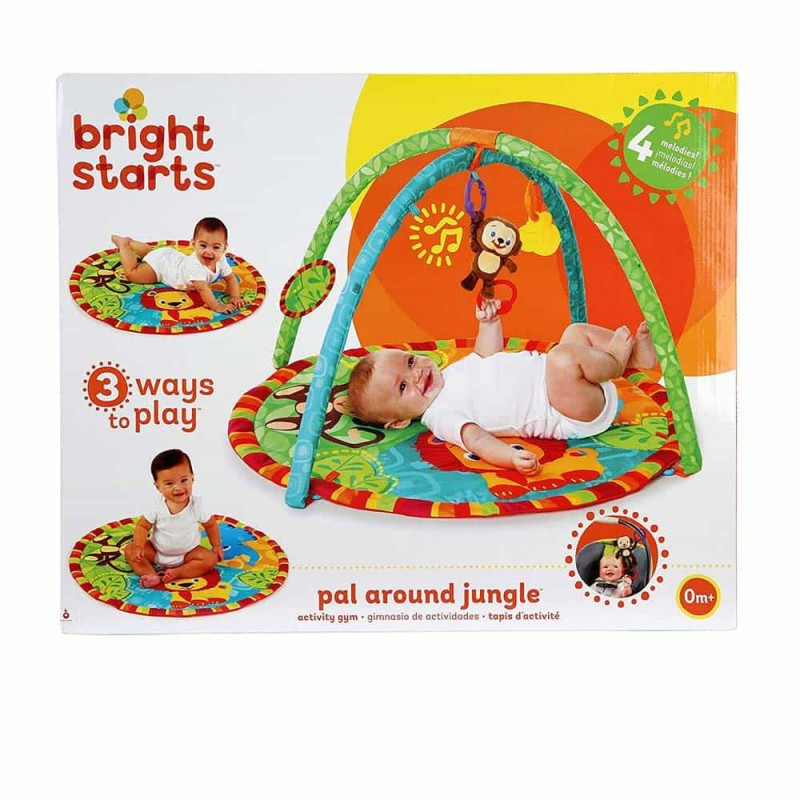 Bright Starts Salteluță de activități Prietenii Jungle Pal Around Jungle 9194