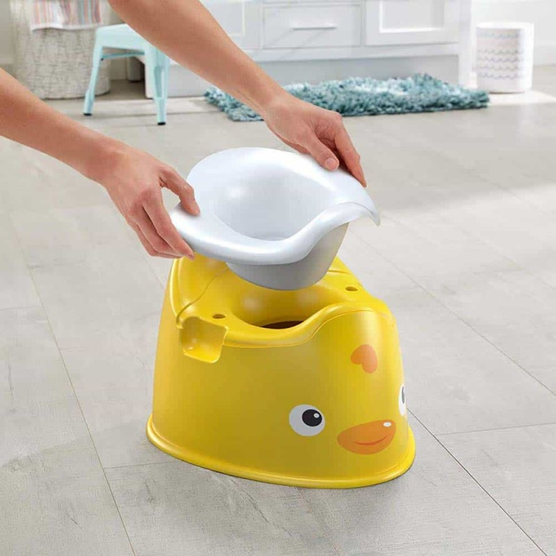 Fisher-Price Oliță cu caracter Rățușcă GCJ81 Ducky Potty Mattel