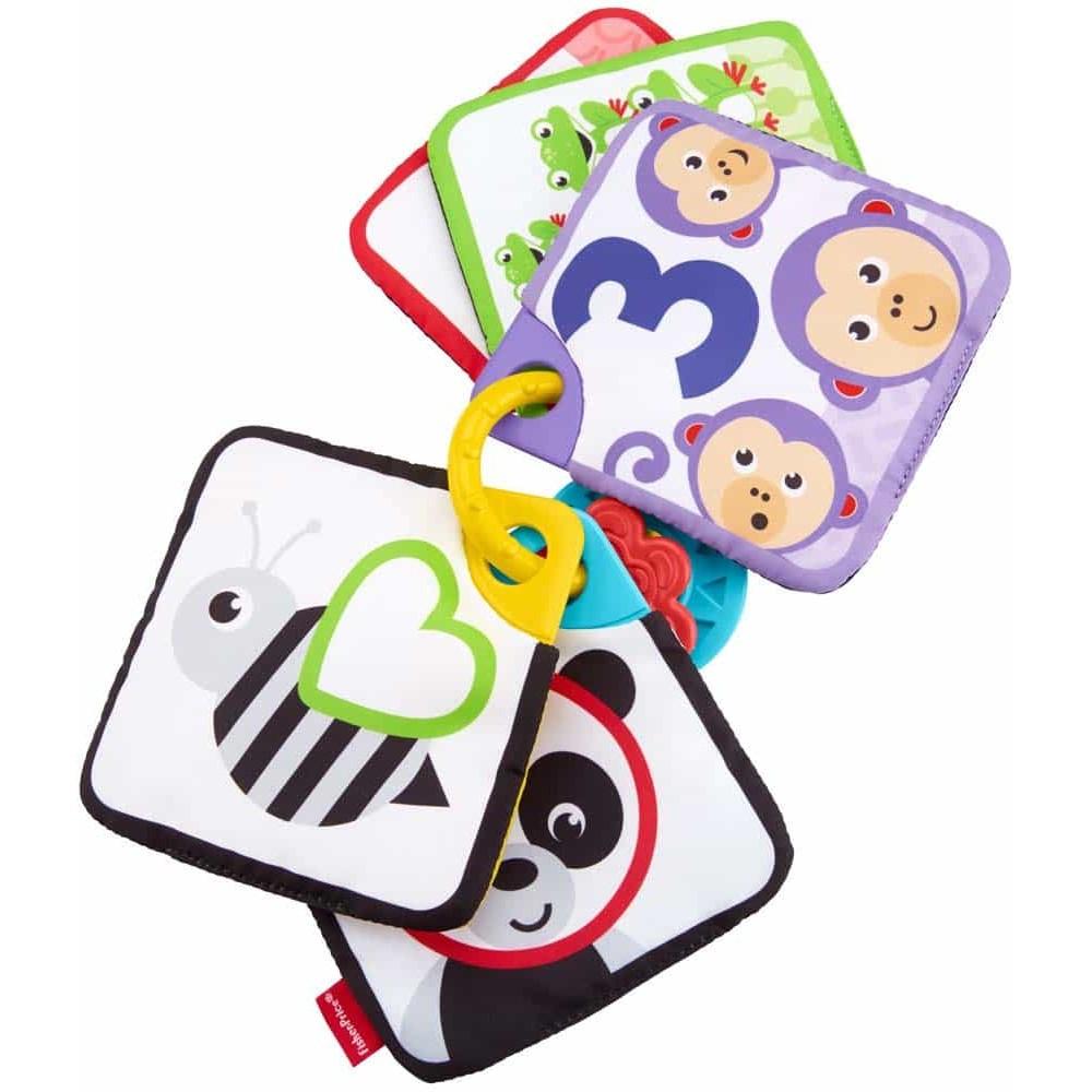 Fisher-Price Cărți de numărat cu animale GFX90 1-5 Babys Knisterkarten