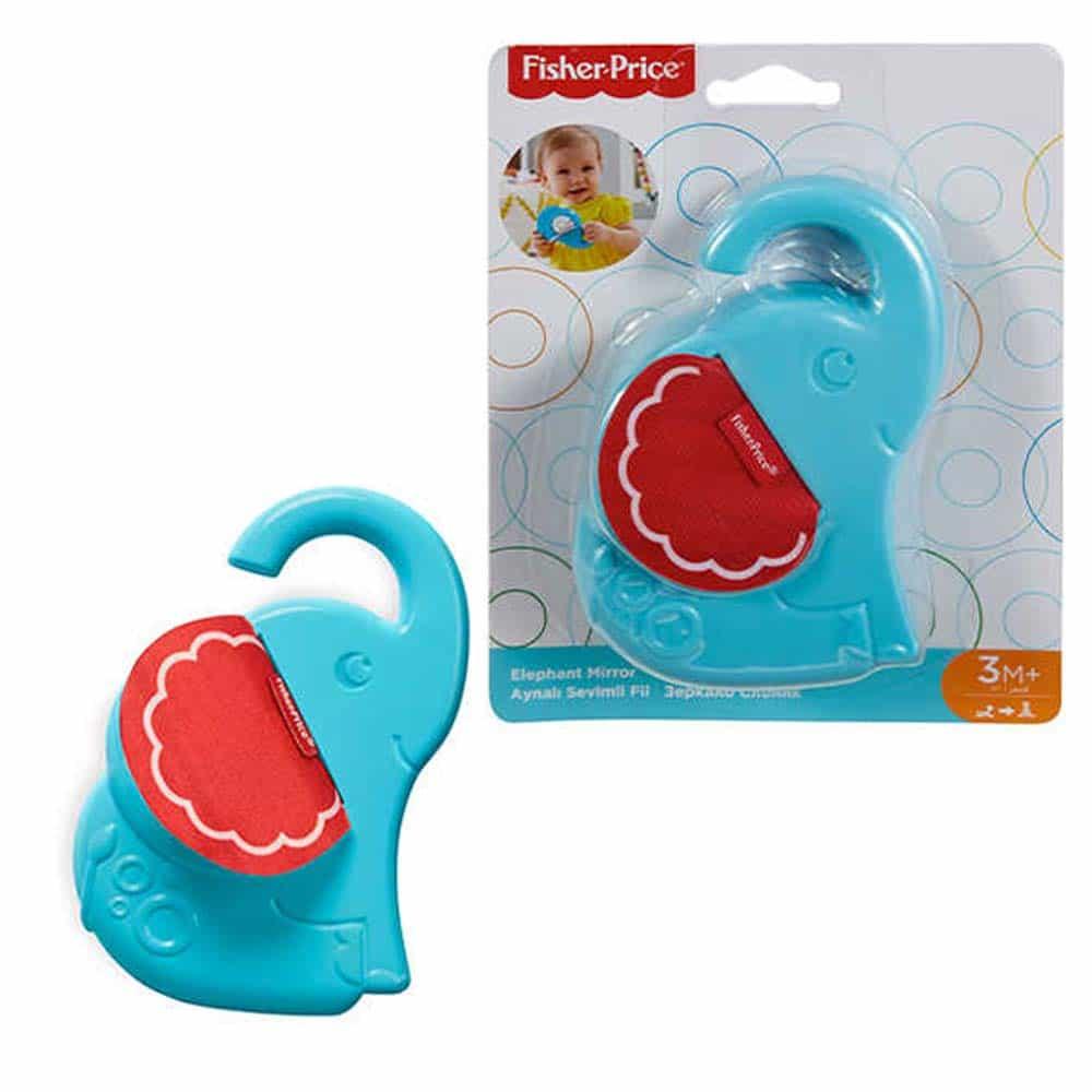 Fisher-Price Baby oglindă elefant FJG09 Elephant mirror - Mattel