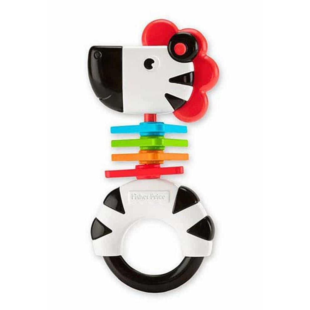 Fisher-Price Zornăitoare colorată Zebră FGJ56 Zebra rattle - Mattel