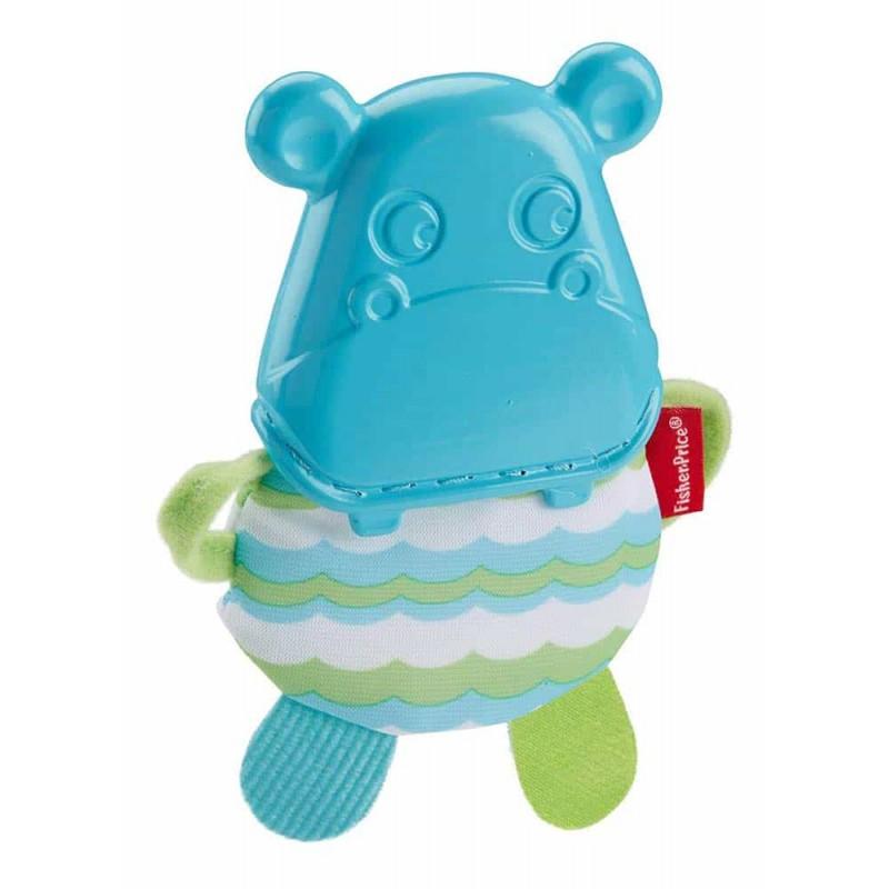 Fisher-Price Jucărie dentiție Hipopotam GBD98 Hippo teether - Mattel