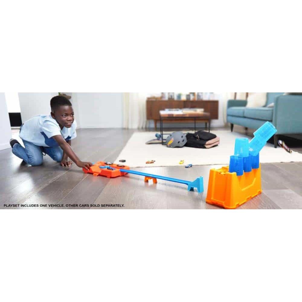 Hot Wheels Track Builder Cutia cu pahare GCF91 cutie transportabilă