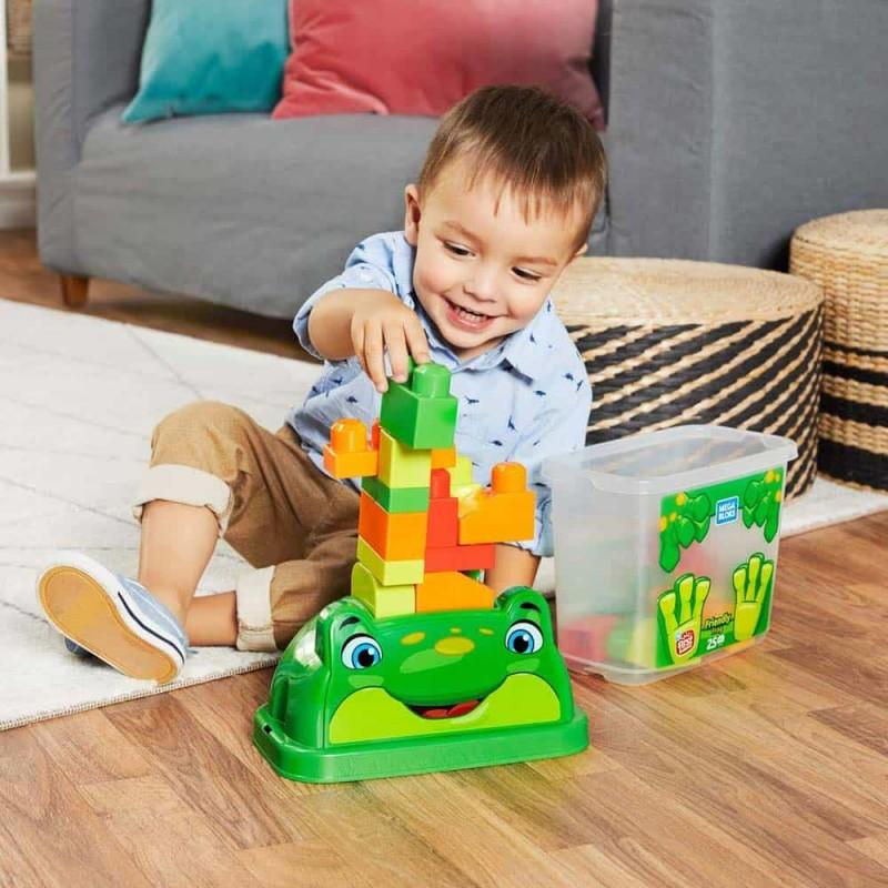 Mega Bloks Set cuburi de construcții Broască prietenoasă GCT49 în cutie