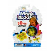 Set creație cu arici Magic Blocks Balls Insecte 50 buc cu Insect series