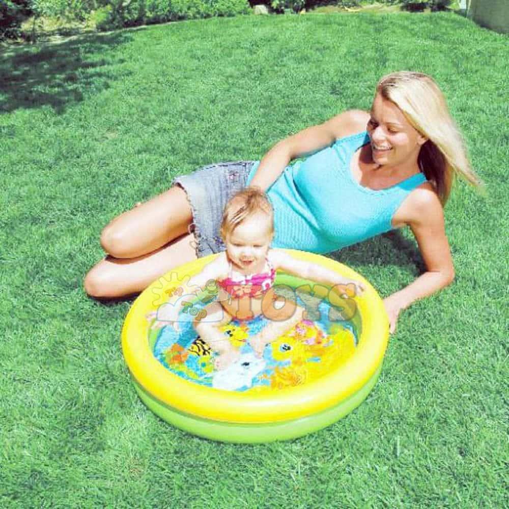 INTEX Piscină gonflabilă 59409 cu 2 inele 61x15cm My First Pool