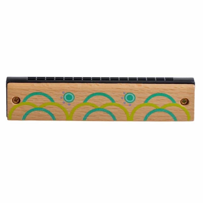 Jucărie din lemn Muzicuță pentru copii Lucy&Leo LL162 diverse culori