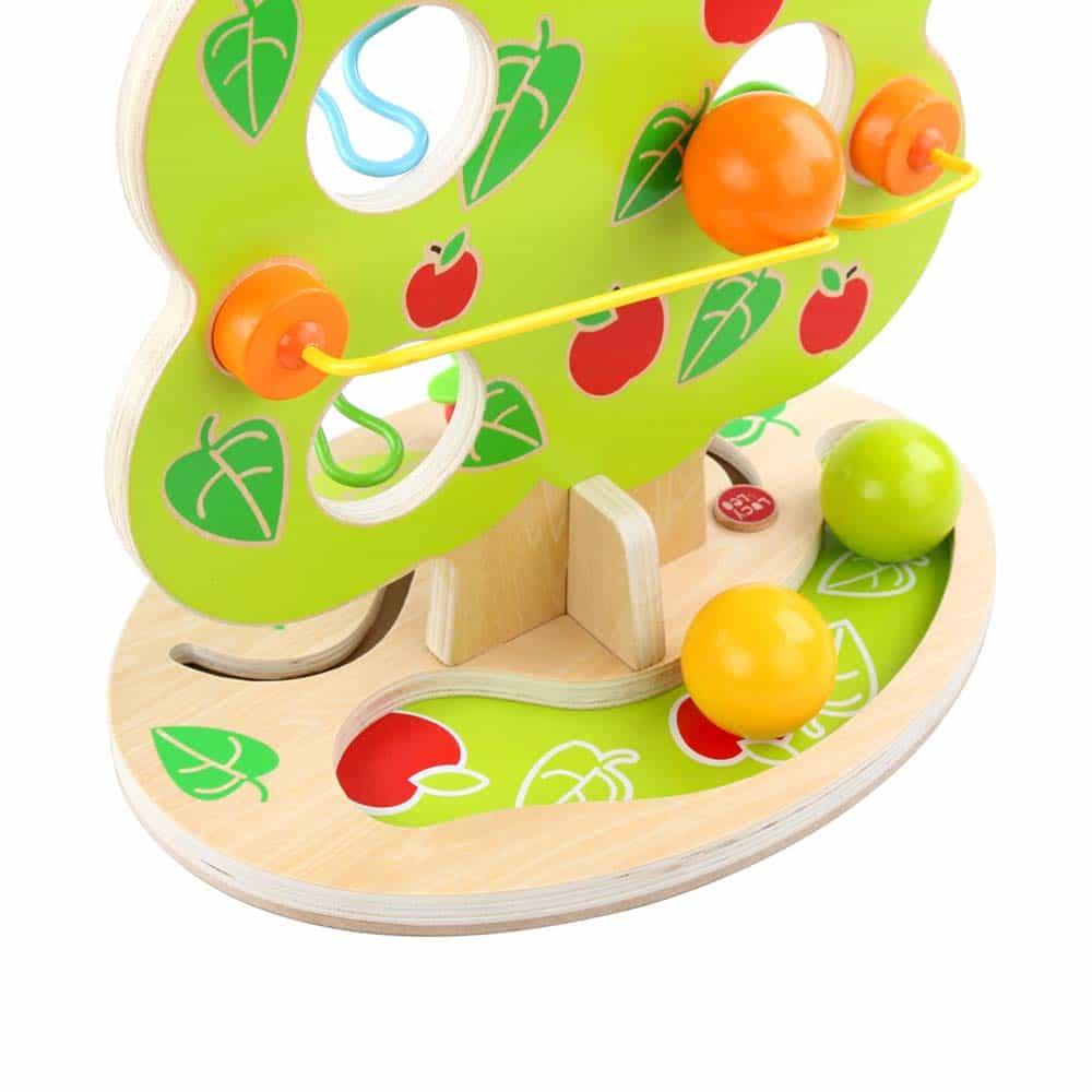Jucărie din lemn Pistă cu bile Copacul fermecător Lucy&Leo LL202