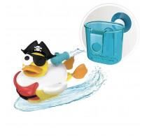 Jucărie de baie Rață pirat cu motor și 15 accesorii Yookidoo 40170