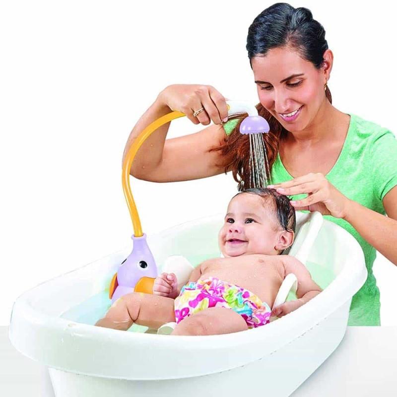 Jucărie Duș portabil pentru bebeluși și copii Yookidoo 40160 elefant violet