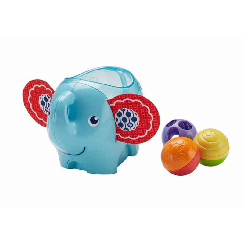 Fisher-Price Jucărie interactivă Elefantul Roly Poly cu bile DYW57