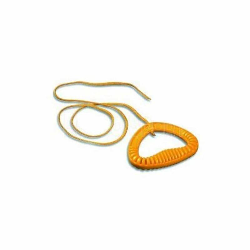 KHW Mâner sanie cu șnur - 115cm galbenă KHW05310