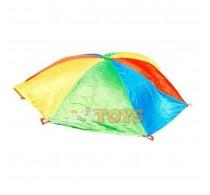 Rosco Sport Parașută de joacă și cooperare curcubeu 3.6 m 8 culori