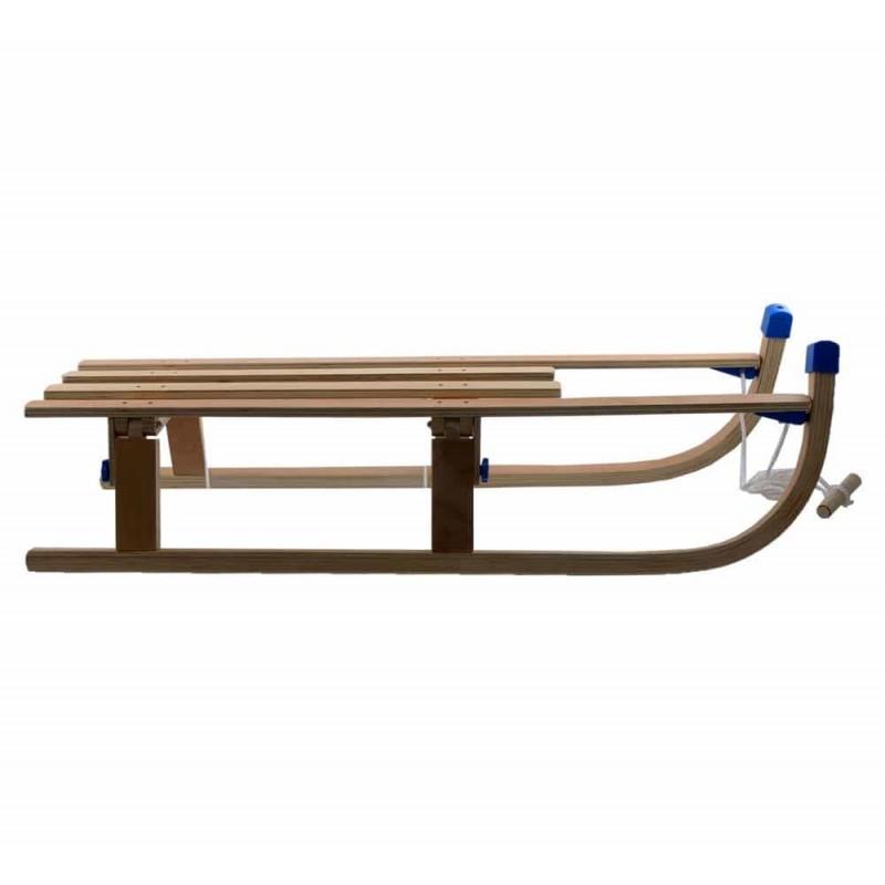 Nijdam Sanie pliabilă din lemn pentru copii și adulți 0263