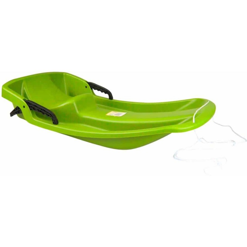 Nijdam Jive bob Sanie din plastic cu frână pentru copii verde 0292 LIM