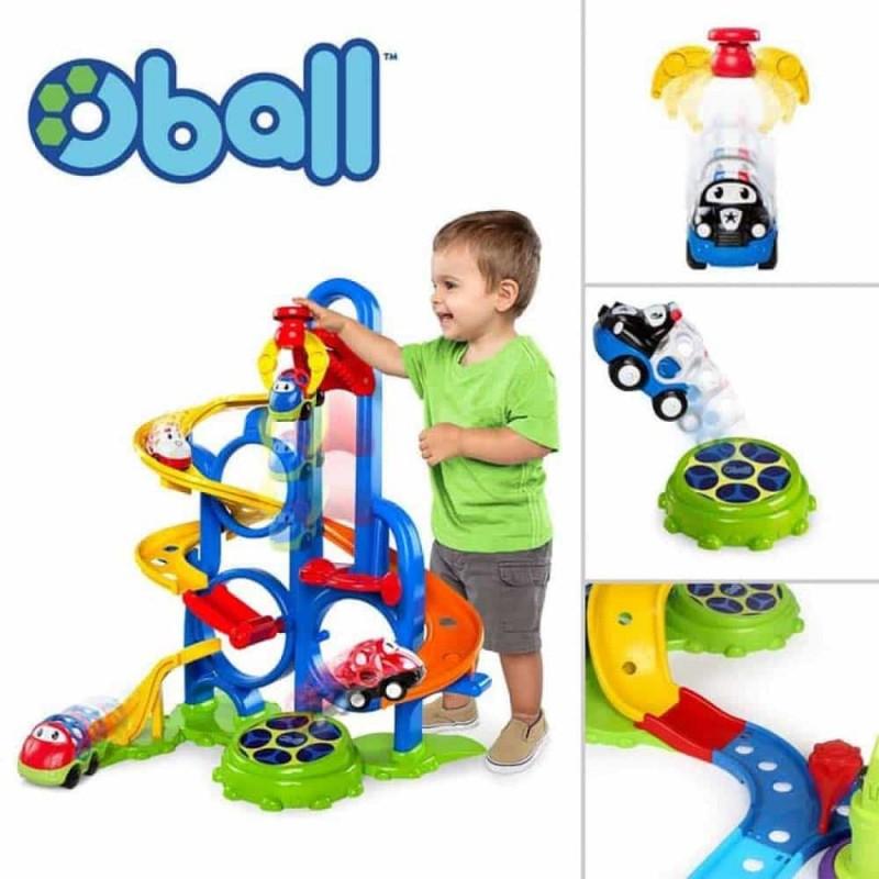 Oball Go Grippers Cursă cu mașini Bounce n Zoom Speedway 10315