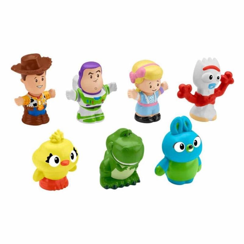 Fisher-Price Figurină Little People set 7 mini figure Toy Story 4 GFD12