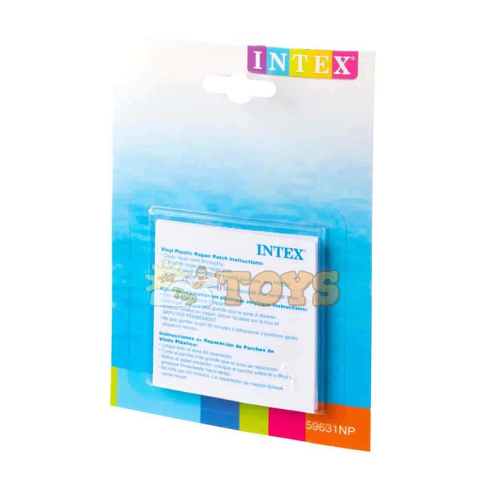 INTEX Kit reparație piscine gonflabile 59631 plasturi petice colac saltea