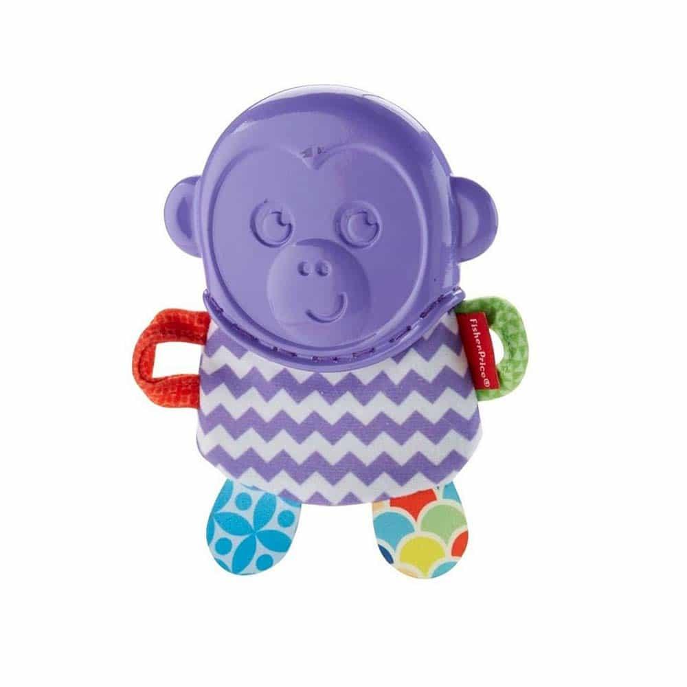 Fisher-Price Jucărie dentiție Maimuță FVF82 - Monkey Teething Pal