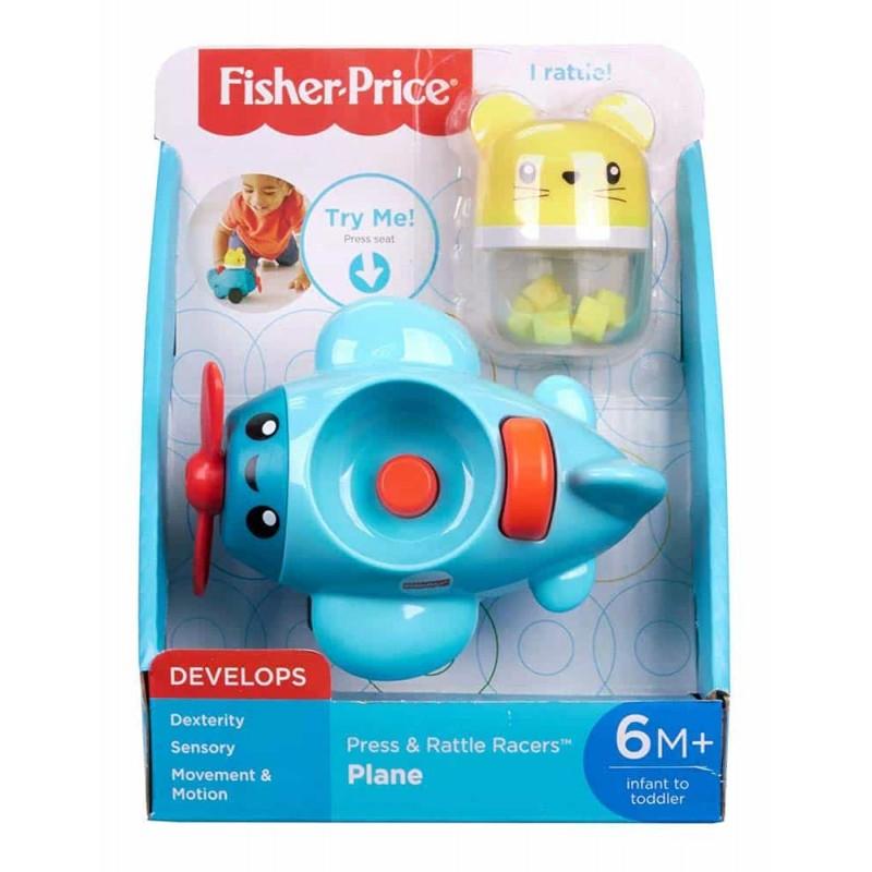 Fisher-Price Jucărie interactivă Avion Apasă și merge FVC72 - Mattel