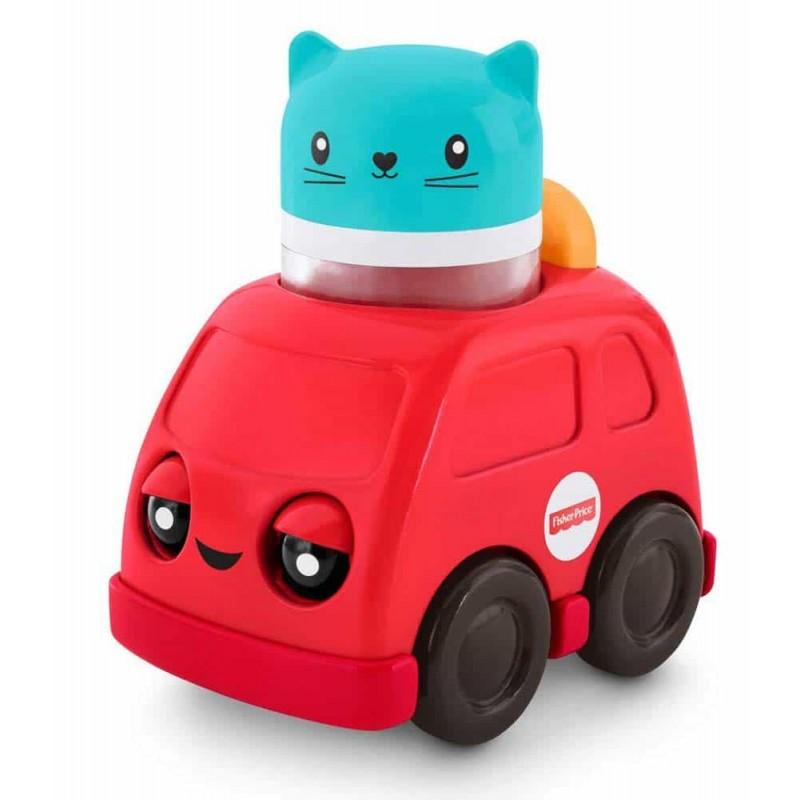 Fisher-Price Jucărie interactivă Mașinuță Apasă și merge FNV39 - Mattel