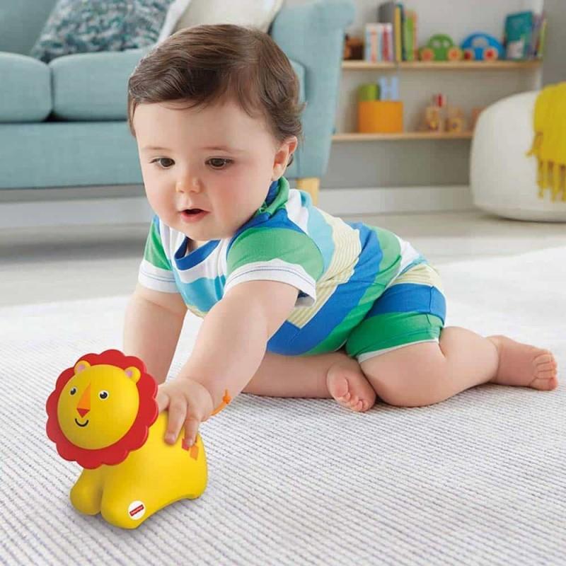 Fisher-Price Jucărie interactivă cu role Leu FNT17 pentru bebe - Mattel