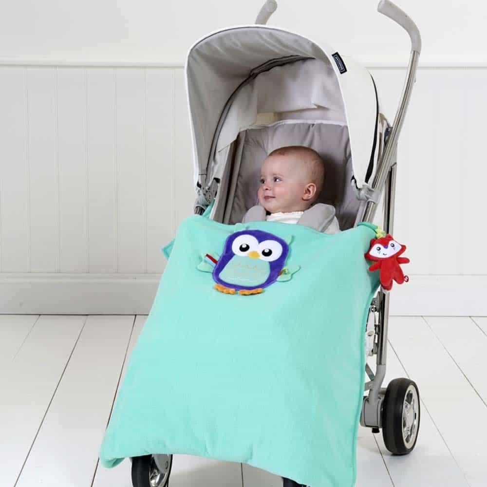 Fisher-Price Pătură cărucior cu Bufniță pentru copii FP8671 - Mattel