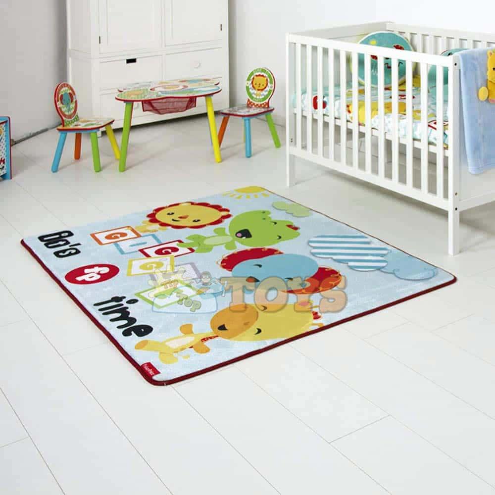 Fisher-Price Covor cameră copii cu animale sălbatice FP10082 - Mattel
