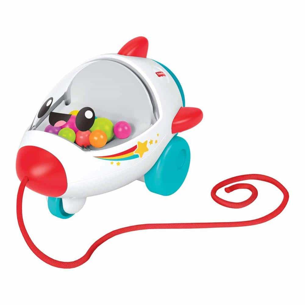 Fisher-Price Jucărie de tras Rachetă pentru copii GCV74 - Mattel