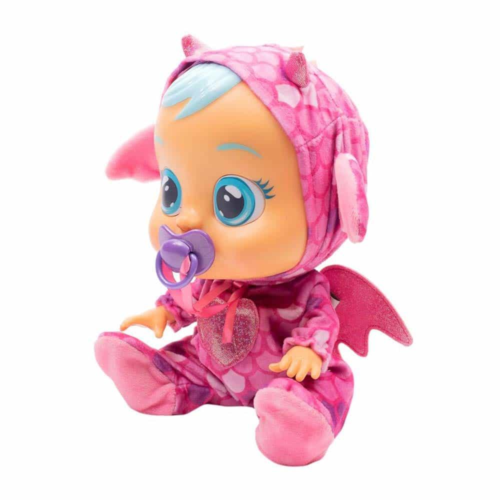 iMC Toys Cry Babies păpușa interactivă care plânge Bruny dragon